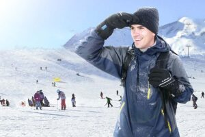 OlarHike Waterproof Winter Ski Gloves for Men and Women