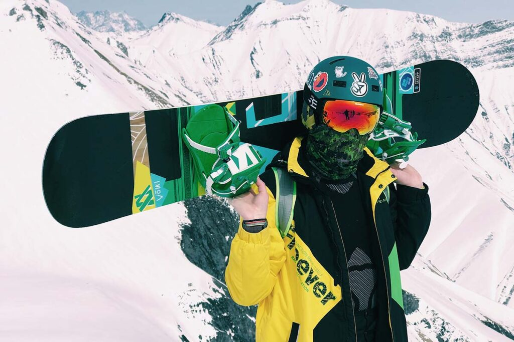 System 2021 MTN and APX Complete Men's Snowboard Package