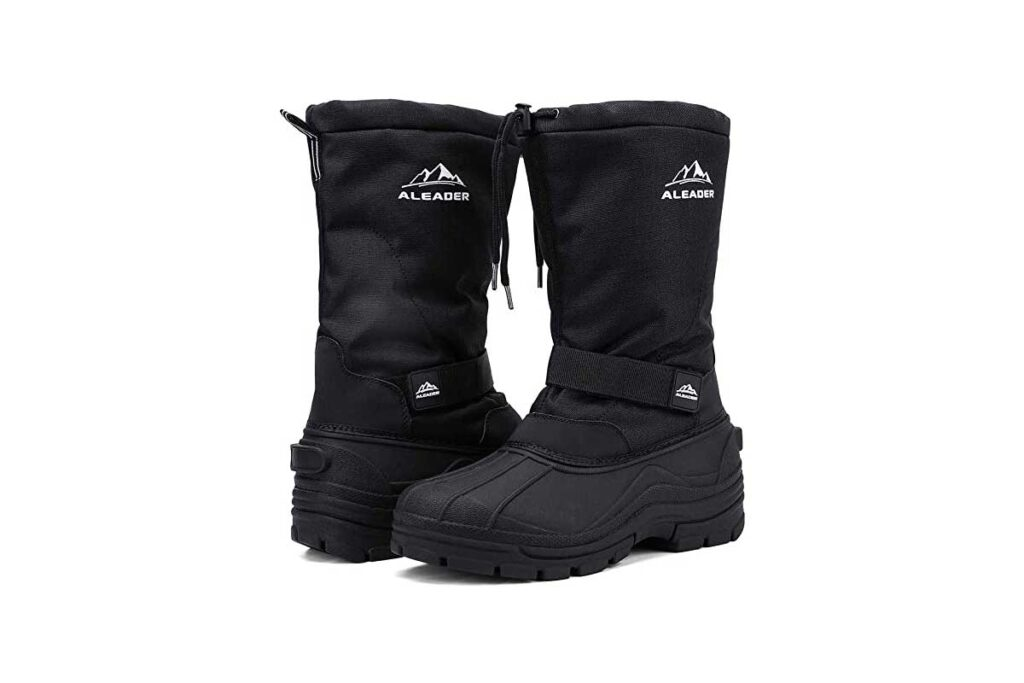 ALEADER-Mens-Insulated-Waterproof-Winter-Snow-Boots
