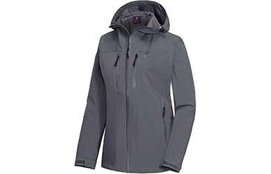 Little Donkey Andy Women's Waterproof Hardshell Jacket